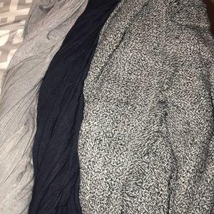 Bundle of three scarves